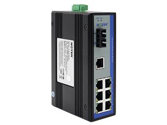 宇泰 UT-62107C 8口百兆非网管型以太网交换机