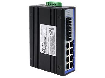 宇泰 UT-6410GM 10口全千兆网管型POE以太网交换机