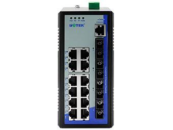 宇泰 UT-62416F系列 16+4G 千兆网管型以太网交换机