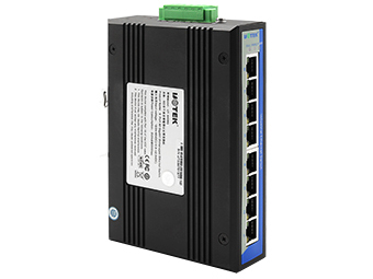 宇泰 UT-6408G 8口全千兆非网管型以太网交换机