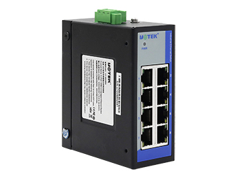 宇泰 UT-6408SA  8口百兆非网管型以太网交换机