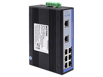宇泰 UT-6408W-220 8口百兆非网管型以太网交换机