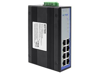 宇泰 UT-6408G-POE  1000M 8口POE以太网交换机