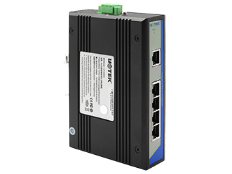 宇泰  UT-6405W 5口百兆非网管型以太网交换机