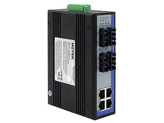 宇泰  UT-62404 8口百兆非网管型以太网交换机