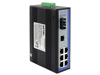 宇泰  UT-62107 8口百兆非网管型以太网交换机