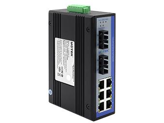 宇泰  UT-62206  8口百兆非网管型以太网交换机