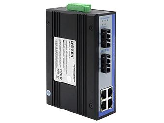 宇泰  UT-62204 6口百兆非网管型以太网交换机