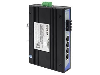 宇泰 UT-2604GC 4口千兆网络光纤收发器