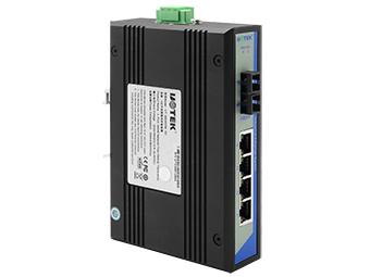 宇泰  UT-2604G  4口千兆网络光纤收发器