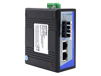 宇泰  UT-2602-220  2口百兆网络光纤收发器