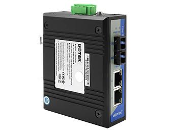 宇泰  UT-2602 2口百兆网络光纤收发器