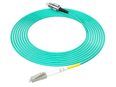 烽火  LC-FC/OM3-10M 万兆光纤跳线工程电信级网线多模单芯OM3网络收发器尾纤光纤连接线