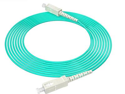烽火  SC-SC/OM3-3M 万兆光纤跳线工程电信级网线多模单芯OM3网络收发器尾纤光纤连接线