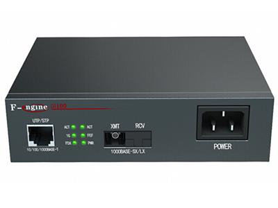 烽火  OL100CR-24B-220光纤收发器电信级千兆单模单纤光电转换器20km一光一电SC接口-B端