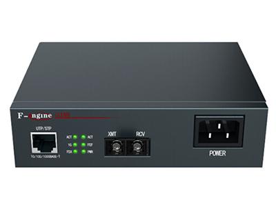 烽火  OL100CR-04B-220光纤收发器电信级千兆单模双纤光电转换器20KM一光一电SC接口