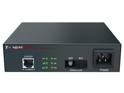烽火  OL100CR-22B-220光纤收发器电信级百兆单模单纤光电转换器20km一光一电SC接口-B端