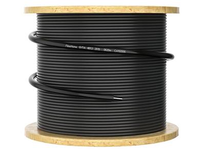 烽火 GYTA-4 铝带纵包架空管道工程层绞式室外光缆铠装单模室外光纤线电信级皮线光纤 4芯100米