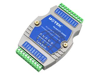 宇泰 UT-2506A  RS-232/485转CAN BUS协议转换器