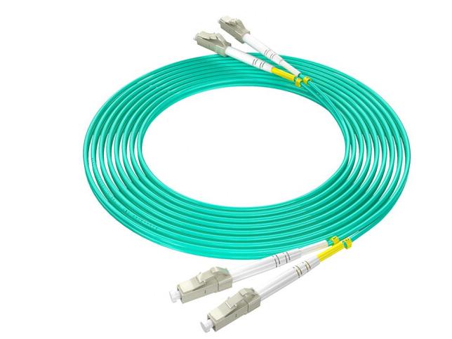 烽火(FiberHome)LC-LC/OM3-3M 万兆光纤跳线工程电信级网线多模双芯OM3网络收发器尾纤光纤连接线 3米