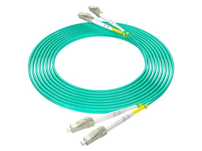 烽火(FiberHome)LC-LC/OM3-5M 万兆光纤跳线工程电信级网线多模双芯OM3网络收发器尾纤光纤连接线 5米