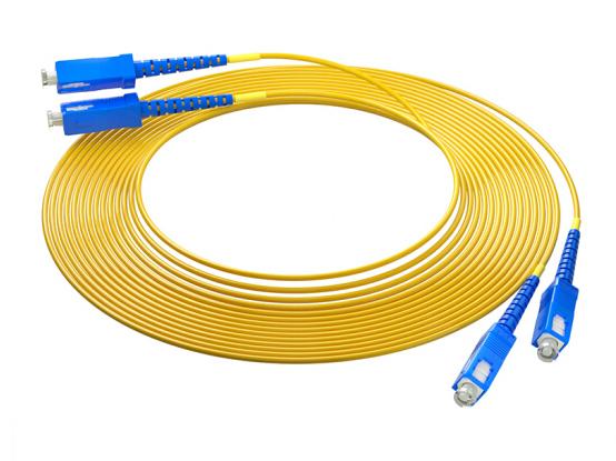 烽火(FiberHome)SC-SC-10M 光纤跳线 电信级单模双芯10米光纤熔接收发器尾纤