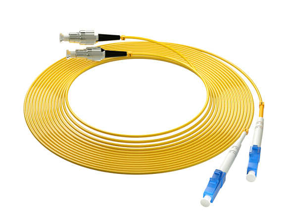 烽火(FiberHome)LC-FC-10M 光纤跳线 电信级单模双芯10米光纤熔接收发器尾纤