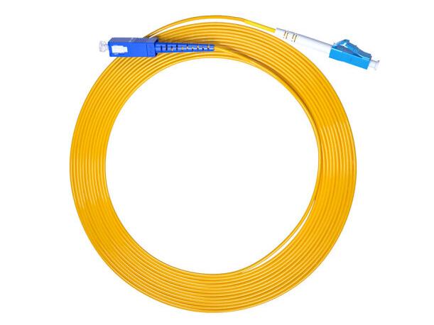 烽火(FiberHome)SC-LC-10M 光纤跳线 电信级单模单芯10米光纤熔接收发器尾纤