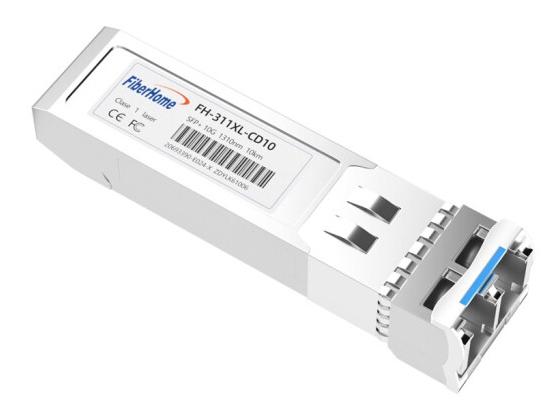 烽火(FiberHome)FH-311XL-CD10 SFP+万兆单模双纤光模块LC口光转电模块10G光纤模块 10km 1支