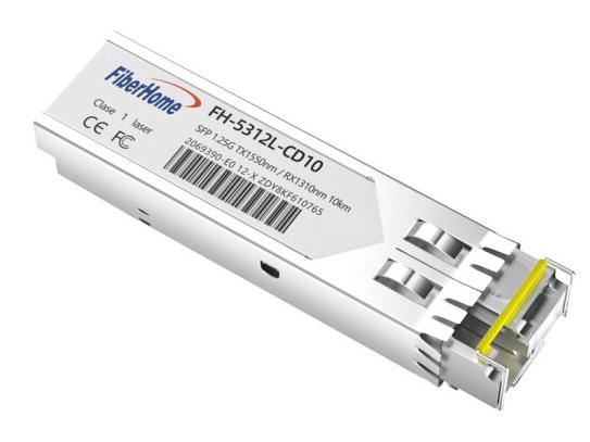烽火(FiberHome)FH-5312L-CD10 SFP千兆单纤光模块LC口光转电模块1.25G光纤模块 10km B端1550/1310nm 1支
