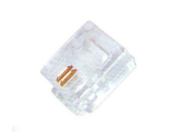 XB-05B 线贝电话水晶头(2芯)