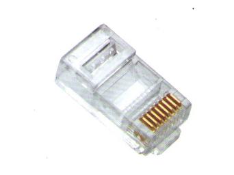 XB-06U 线贝超六类水晶头(一体式)