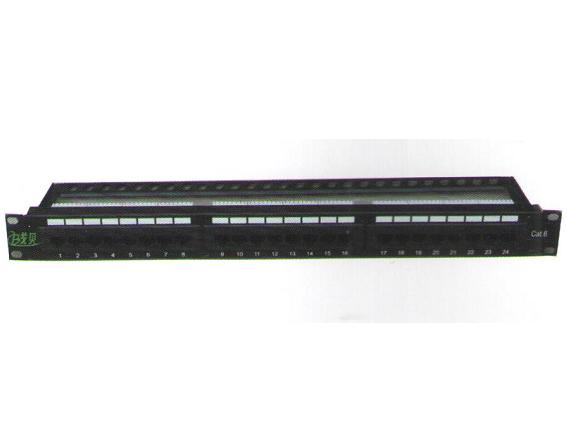 XB-01UA 线贝24口超六类配线架(一体式)