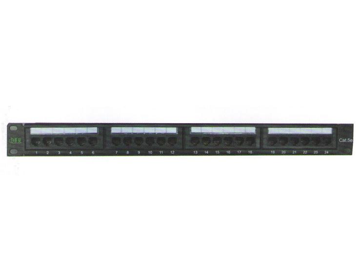 XB-02UA24 线贝24口超五类配线架(一体式)