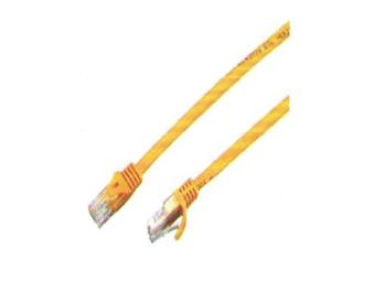 XB-1M/RJ45超五类非屏蔽线黄色(1米)