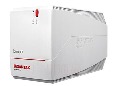 山特  K500/K1000UPS不间断后备式电源办公电脑断电续航稳压输出内置电池 K1000 1000VA/600W