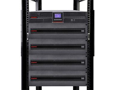 山特  PT10K UPS不间断电源机架式10kVA/10kW网络服务器电源机房 单机+4*PTB9161(满载17分钟)