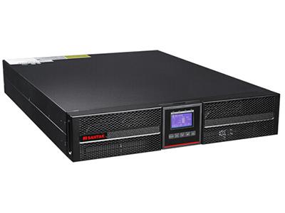 山特  PT10KS UPS不间断电源机架式10kVA/10kW网络服务器电源机房 单机 PT 10KS 长机主机,需外接192V大容量电池