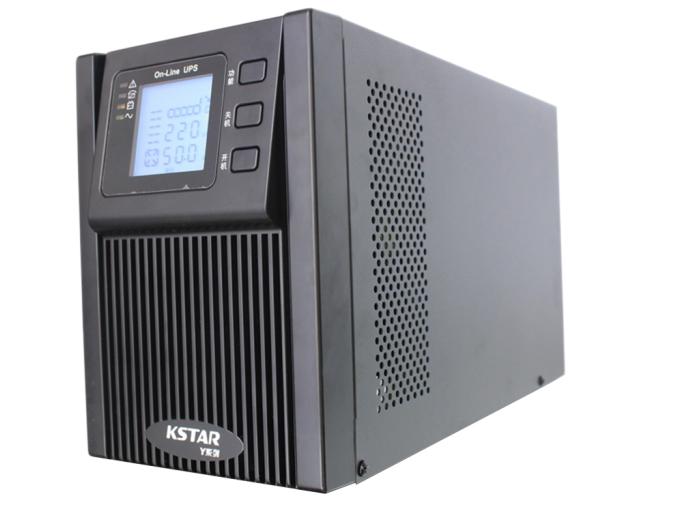 科士达 KSTAR UPS不间断电源YDC9103H-B 3KVA电脑服务器稳压在线式外接电池主机
