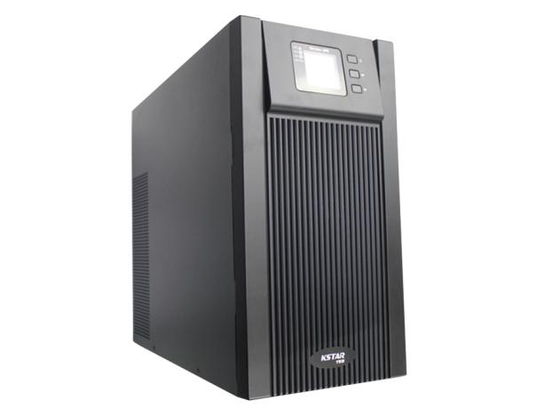 科士达UPS不间断电源YDC9106H 6KVA电脑服务器稳压防雷主机外接电池