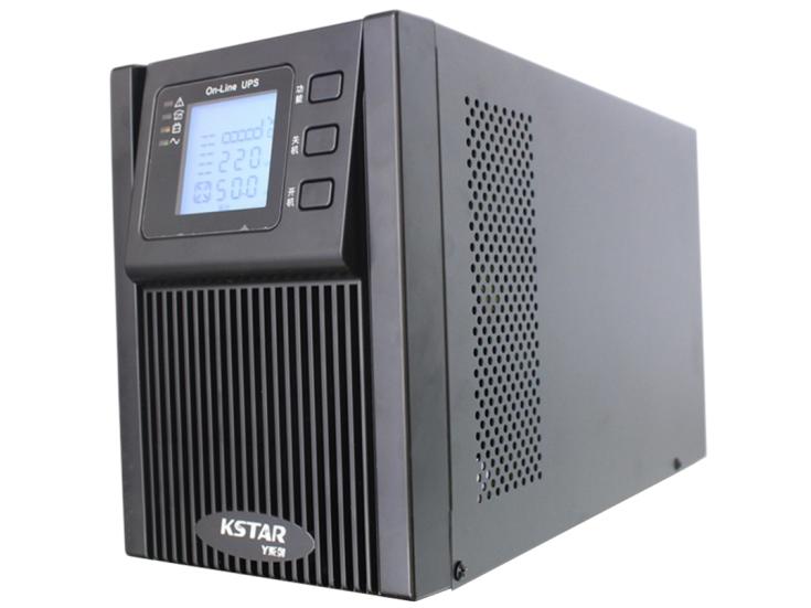 科士达 KSTAR UPS不间断电源YDC9102H 2KVA电脑服务器稳压防雷在线式外接电池主机