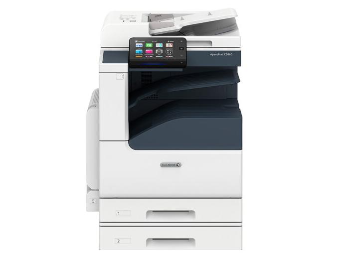 富士 ApeosPort C2060 A3彩色激光复合复印机 含输稿器+双纸盒
