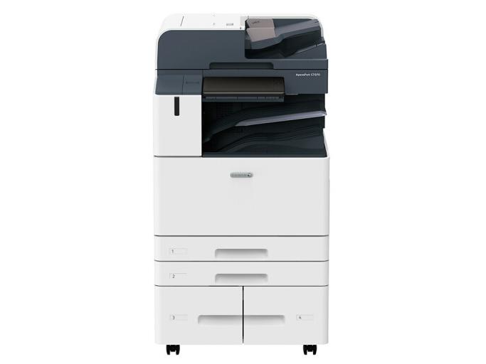 富士 ApeosPort C7070  A3彩色激光复合复印机 含输稿器+四纸盒
