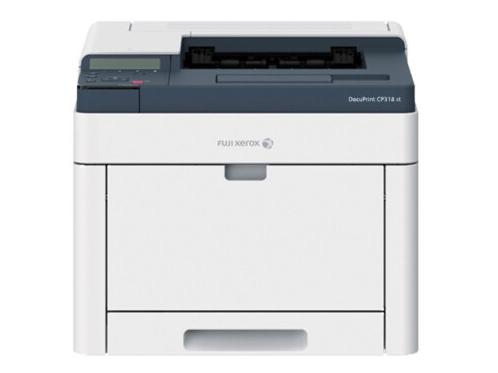 富士 Docu CP318 st 彩色A4打印机自动双面打印机