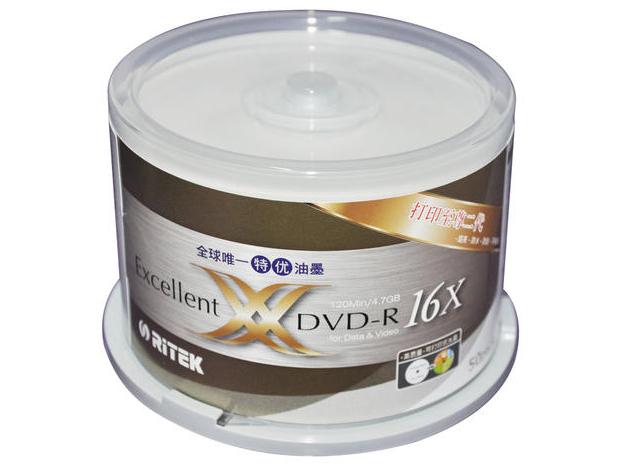 铼德X系列可打印DVD
