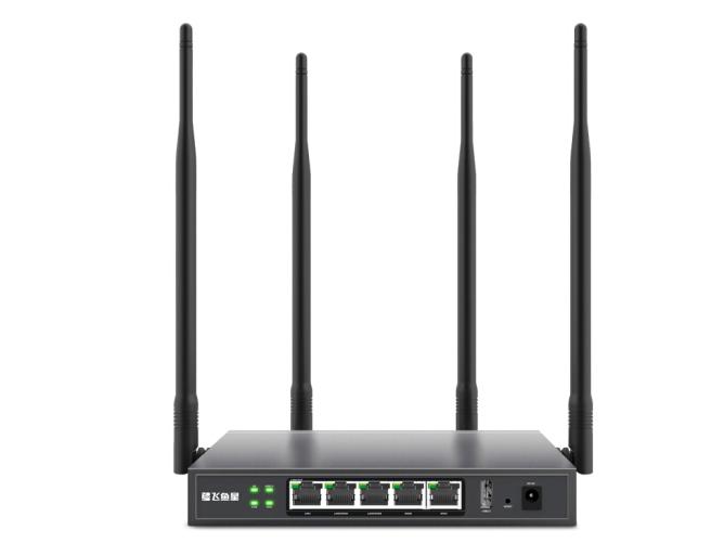 飞鱼星 VE608W 1200M双频无线路由器 双频路由器/WiFi企业路由器/上网管理