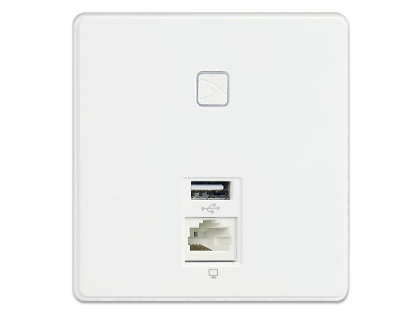 飞鱼星 VP320 入墙无线AP面板 POE供电/AC统一管理