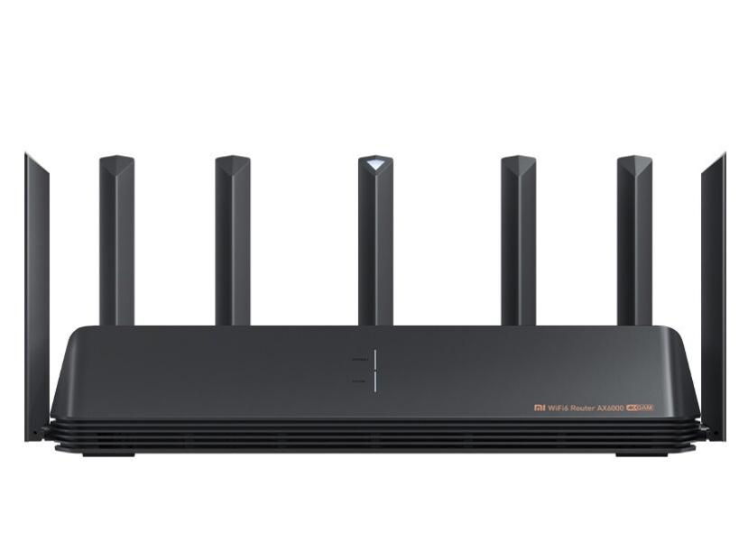 小米路由器 AX6000 5G双频WIFI6 6000M速率 无线穿墙千兆 家用智能 电竞路由 工业级