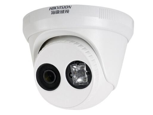 海康威视网络监控摄像头 200万星光级 网线供电 高清夜视 监控设备高清半球 3326WD-I 4MM