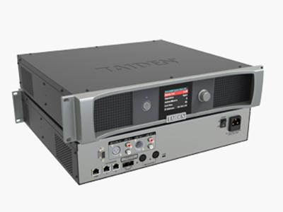 """臺電 HCS-4800MC 全數字化會議系統主機 獨創的 MCA_STREAM 數字處理和傳輸技術 一條6芯電纜傳輸64種語言和各種信息 支持48 kHz音頻采樣頻率,64通道頻率響應均可達30 Hz~20 kHz 長距離傳輸對音質不會有任何影響 """"環形手拉手""""連接,系統更可靠 分機單元麥克風增益和EQ獨立可調 會議主機具有光纖接口,使得遠距離的會議室合并成為現實 主機與電腦用TCP/IP連接方式 可實現會議系統的遠程控制,遠程診斷和升級 內置多路的內部通訊功能 系統電源可通過中控系統進行集中控制管理 多種方式的會議室合并/拆分功"""